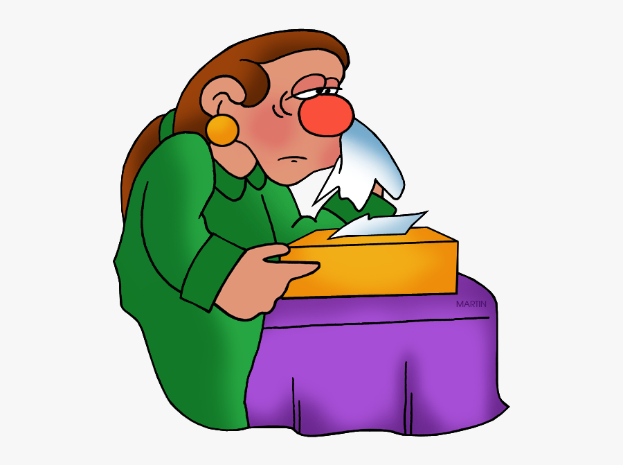 Transparent Nose Clipart Png - Cold Being Sick Transparent, Transparent Clipart