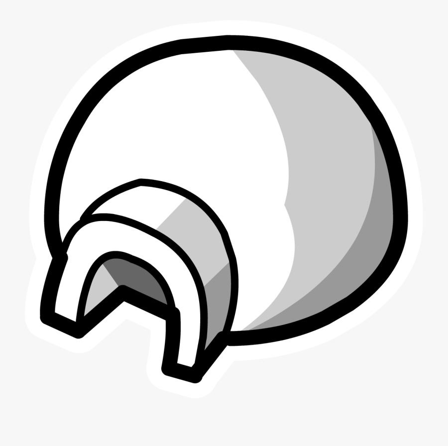 Igloo Clipart Man - Club Penguin Icon Png, Transparent Clipart
