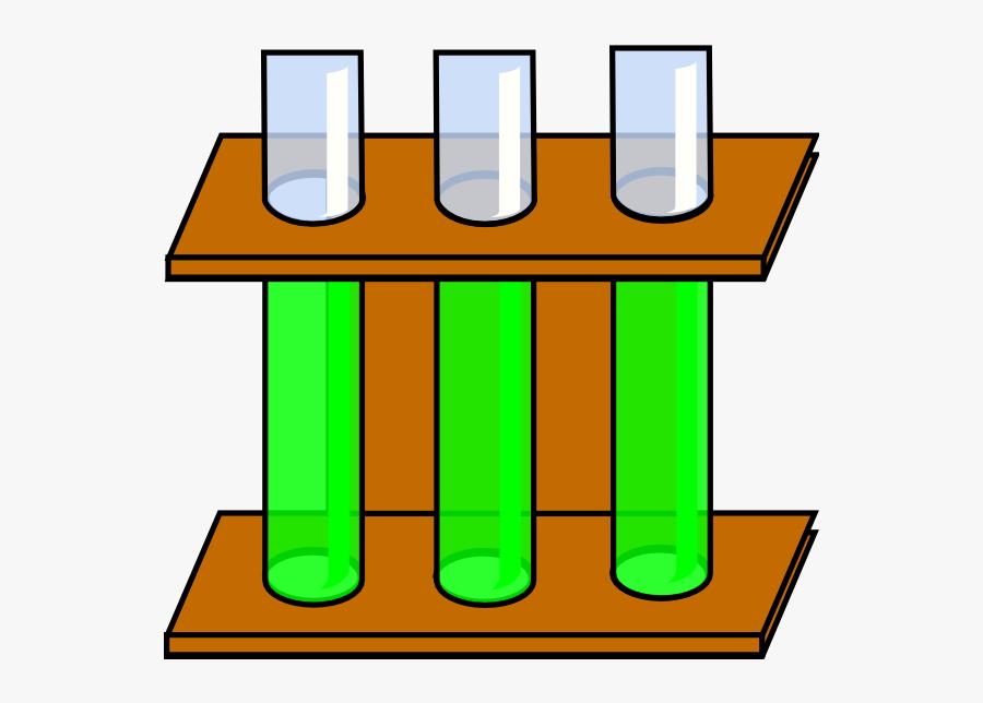3 Science Test Tubes Clipart - Test Tubes Clip Art, Transparent Clipart
