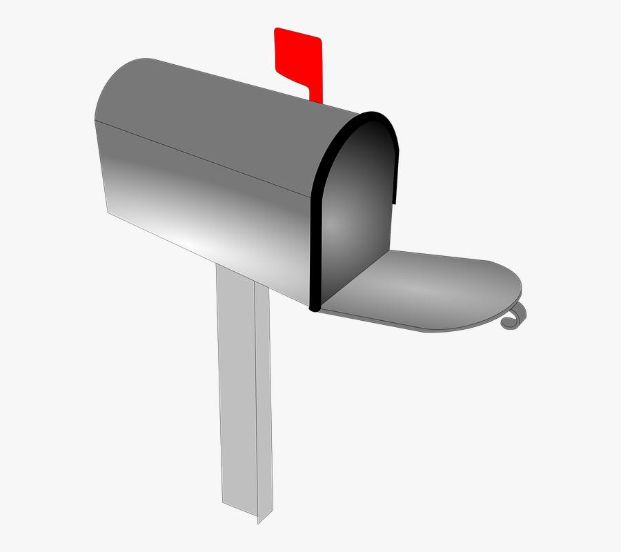 Mailbox, Mail, Letter, Post, Envelope, Delivery - Mailbox Transparent, Transparent Clipart