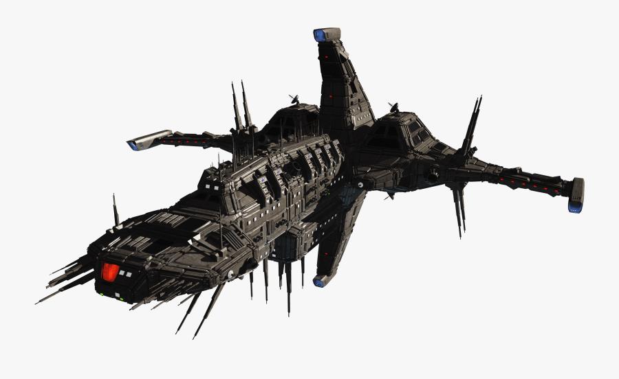 Transparent Spacecraft Png - Spaceship Sci Fi Png, Transparent Clipart