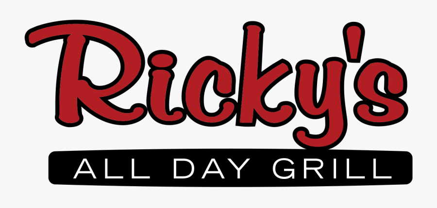 Grill Clipart Svg - Ricky's Grill Logo, Transparent Clipart