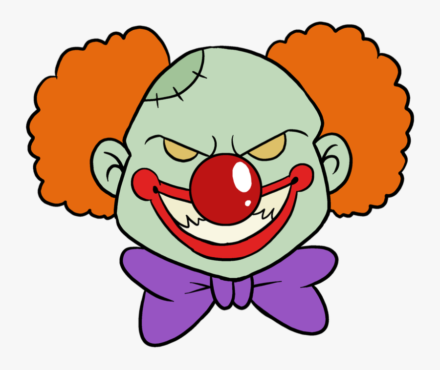 How To Draw Scary Clown Easy To Draw Scary Clown Free Transparent Clipart Clipartkey