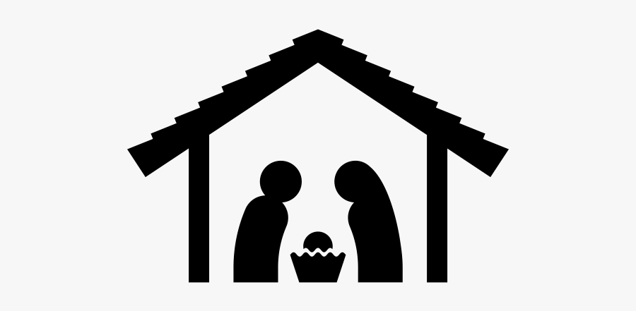 """Nativity Scene Rubber Stamp""""  Class=""""lazyload Lazyload - Nativity Scene Icon Png, Transparent Clipart"""