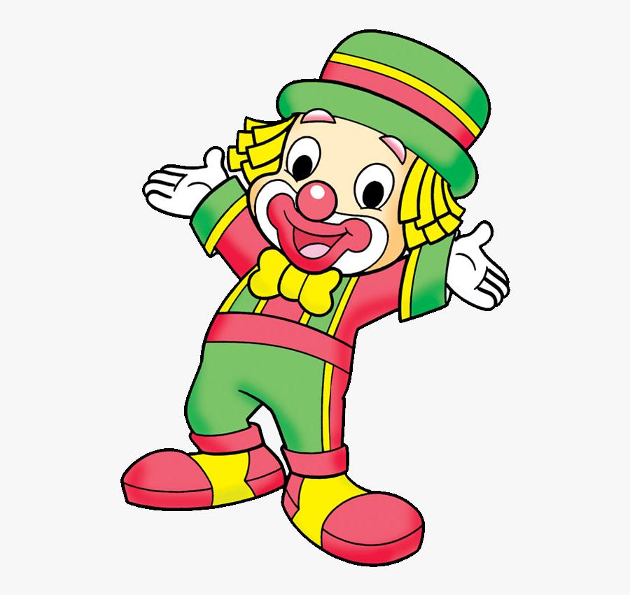 Transparent Clown Clipart Png - Desenho Colorido Patati Patata, Transparent Clipart