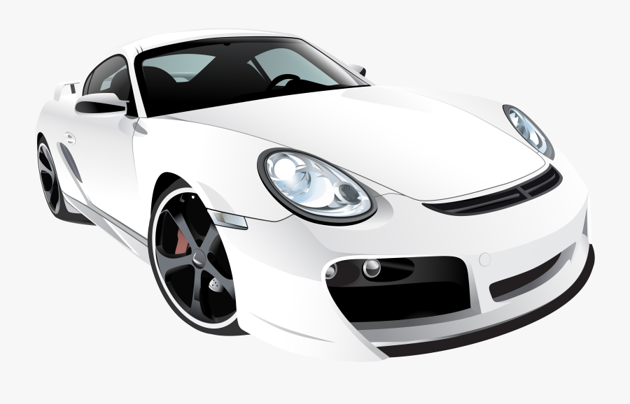 White Sport Car Png Clip Art Sports Cars White Background Free Transparent Clipart Clipartkey