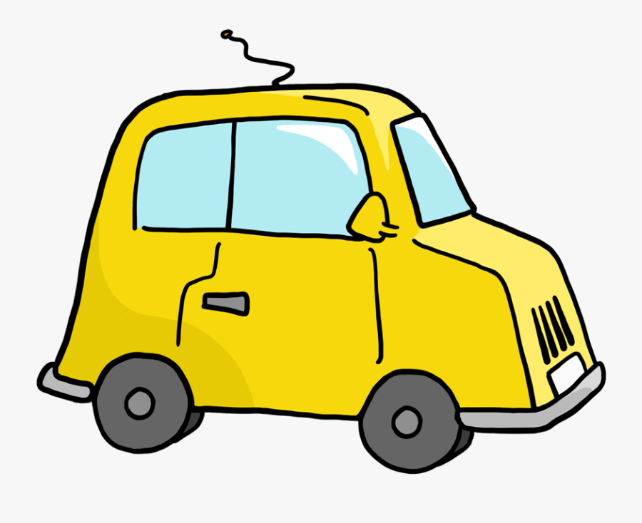 Creating Car Clip Art - Mr Bean Car Clipart, Transparent Clipart