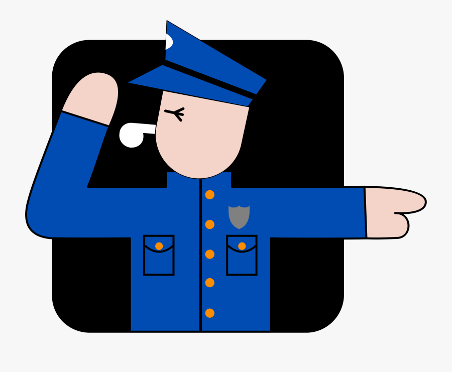 Police Officer African Policeman Detective Law Enforcement - Police Officer, Transparent Clipart