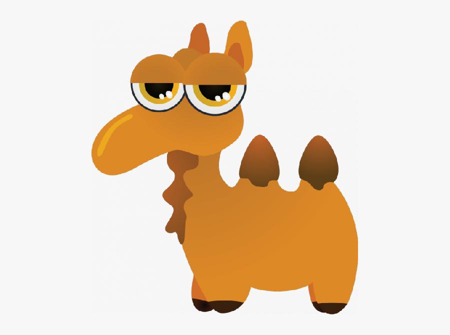 Cute Camel Clipart Funny Pictures - Clip Art Drawn Camel Cartoon, Transparent Clipart