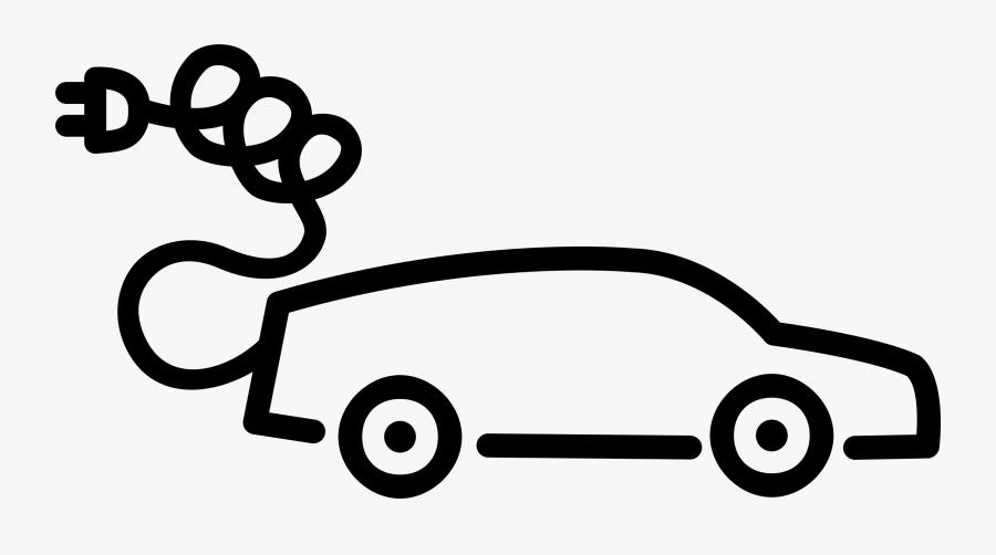 Electric Car Png - Clip Art Electric Car, Transparent Clipart