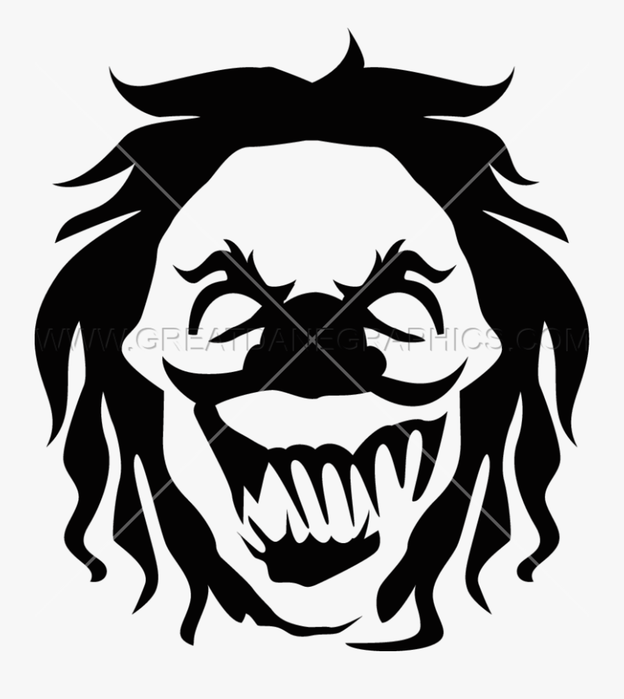 Clown Clipart Eveil Gambar Badut Hitam Putih Free