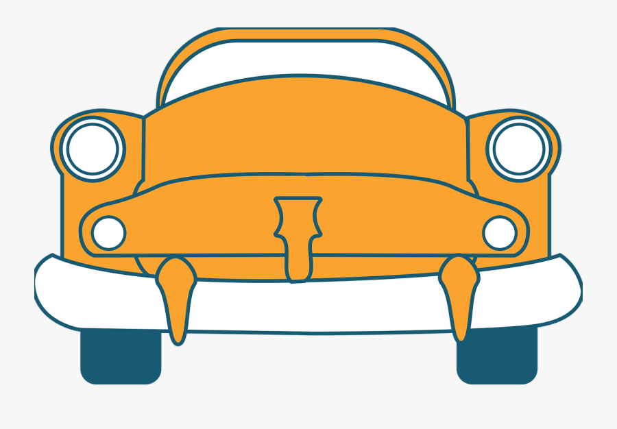 Old Car Vector Graphics - Car, Transparent Clipart