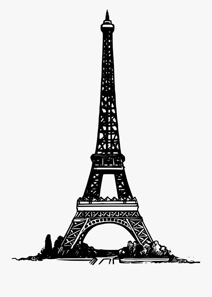 Eiffel Tower Png Picture - Paris Eiffel Tower Clip Art, Transparent Clipart