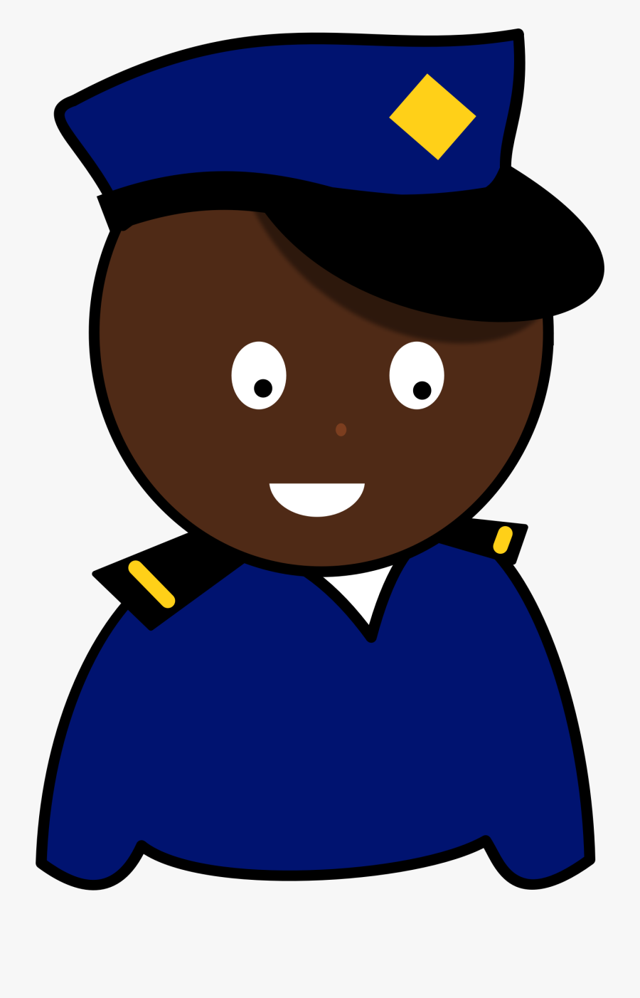 Police Officer Drawing Uniform Police Authority - Authority Drawings, Transparent Clipart