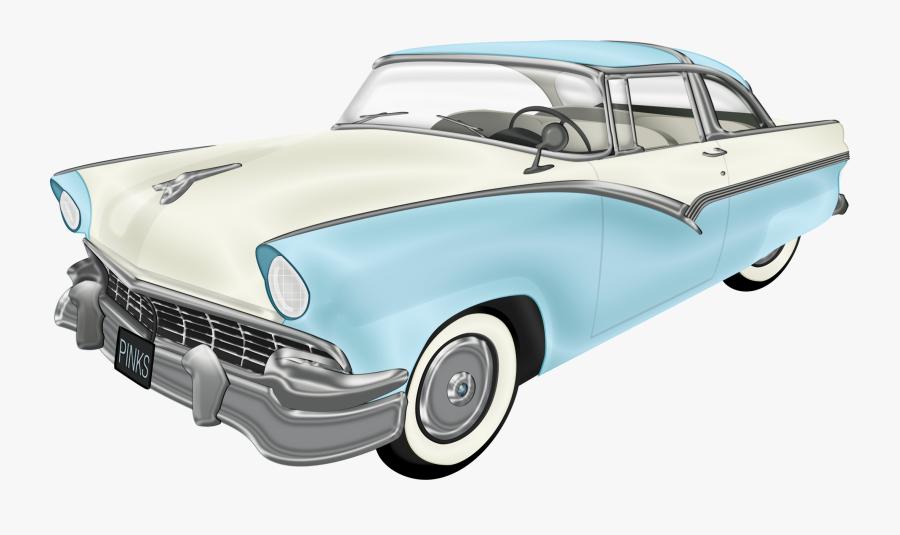 Hd Classic Car Clipart - Transparent Background Classic Car Clipart, Transparent Clipart