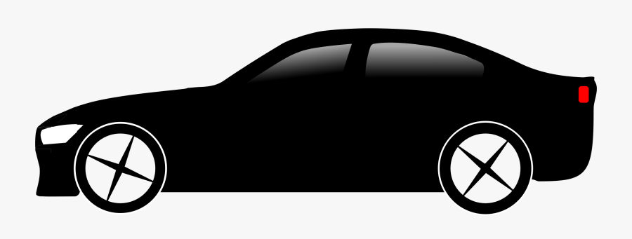 Vehicle Clipart Big Car - Black Car Clipart Png, Transparent Clipart
