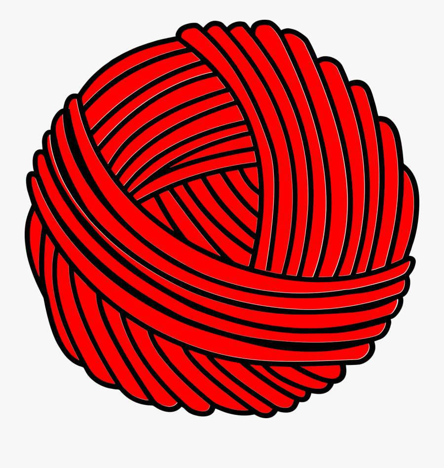 Ball Of Yarn Png - Ball Of Wool Clipart, Transparent Clipart