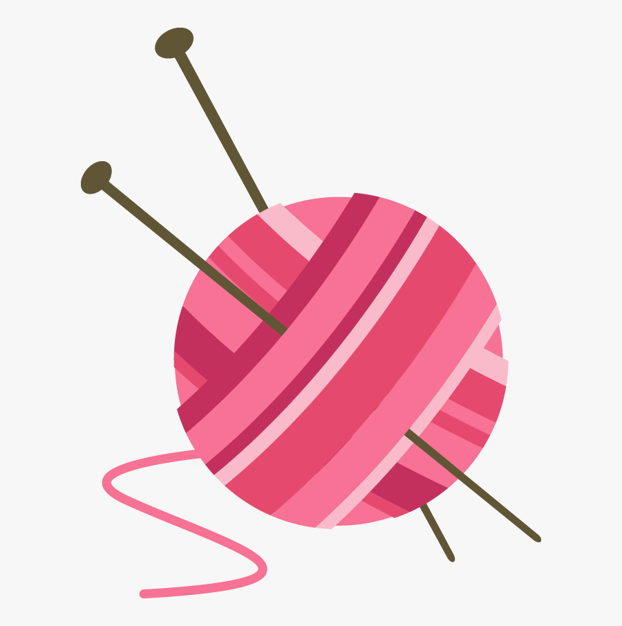 Png Knitting Transparent Knitting - Yarn Ball Clipart Transparent, Transparent Clipart