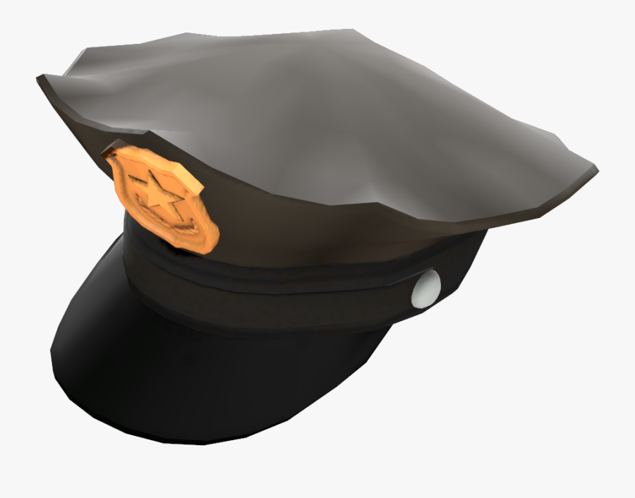 Team Fortress 2 Hat Law Police Officer - Police Officer Hat Png, Transparent Clipart