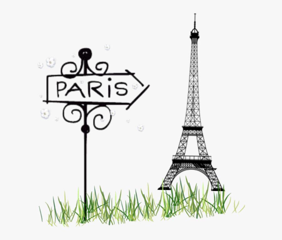 Transparent Eiffel Tower Png - Cute Easy Paris Drawings, Transparent Clipart