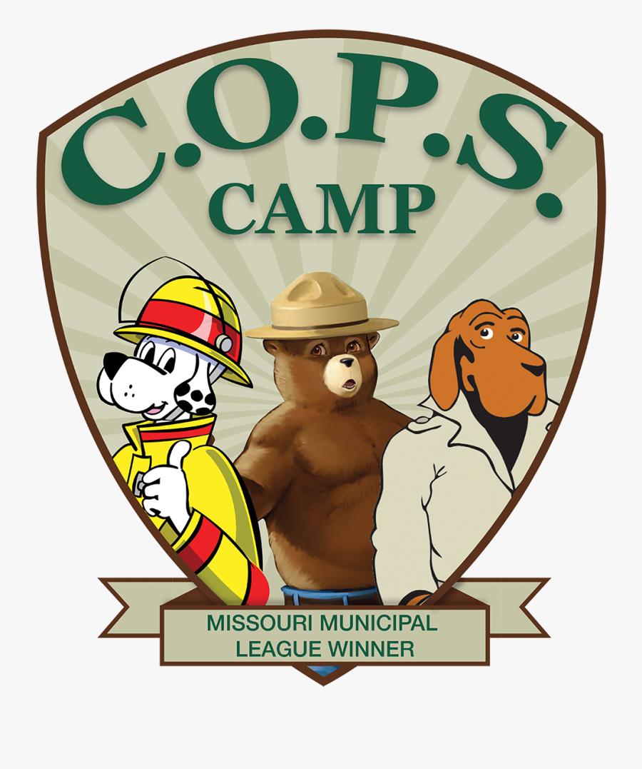 C O P S - Cops Camp, Transparent Clipart