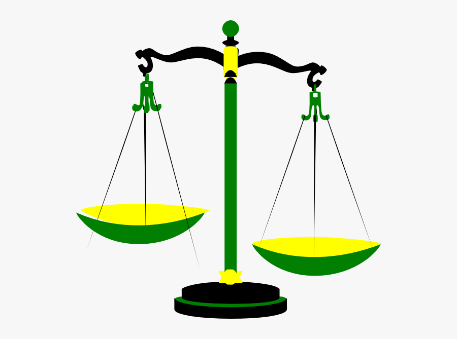 Balance Scale Clip Art Vector Free For Download On - Scales Of Justice Clip Art, Transparent Clipart