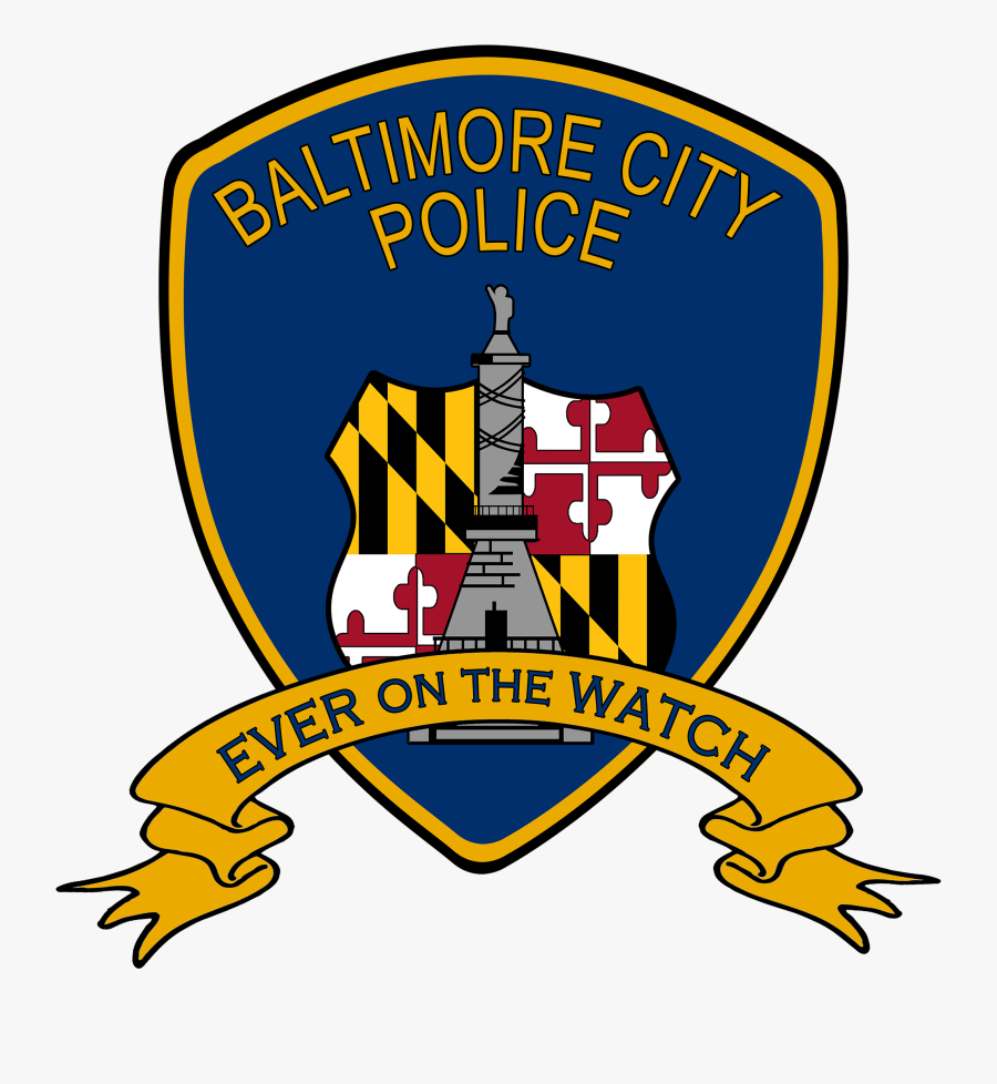 Police Clipart Police Sergeant - Baltimore City Police Logo, Transparent Clipart