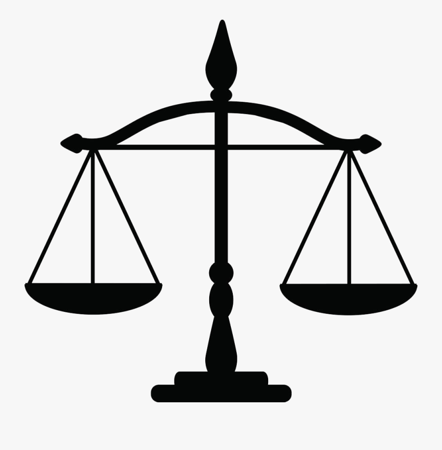 Justice Weighing Scale Law Clip Art - Justice Weighing Scale, Transparent Clipart