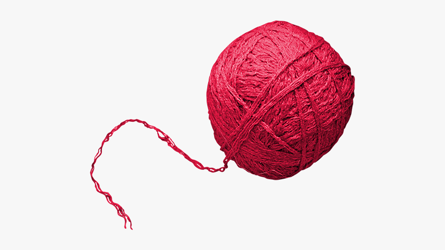 Clip Art Gomitolo Woolen Ball Material - Transparent Background Yarn Ball Png, Transparent Clipart