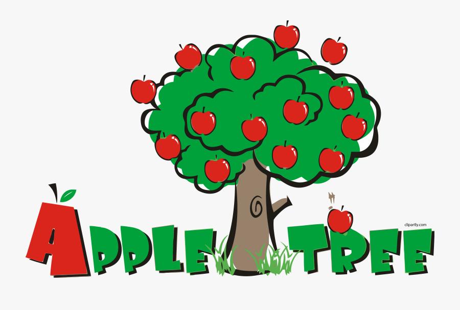 Apple Tree Pre School Clipart Png - Apple Tree Pre School, Transparent Clipart