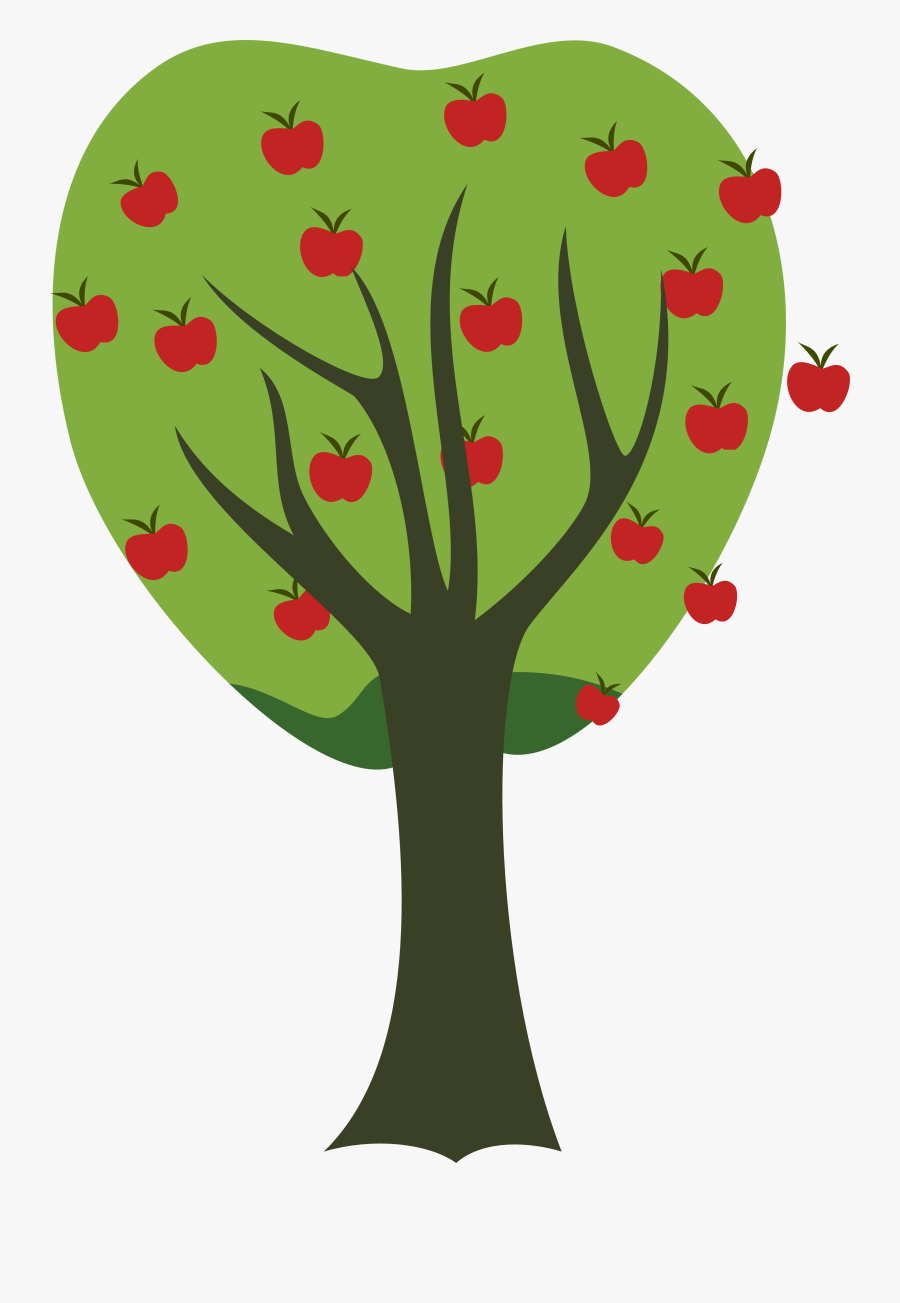 Picture Of A Apple Tree - My Little Pony Apple Tree, Transparent Clipart