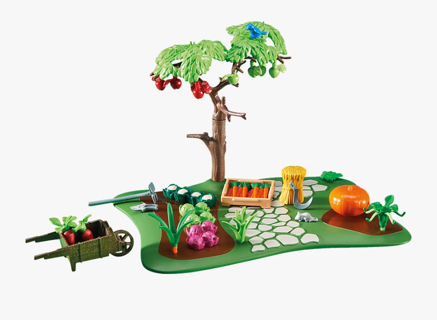 Apple Tree Clipart Garden - Playmobil Apple Tree, Transparent Clipart
