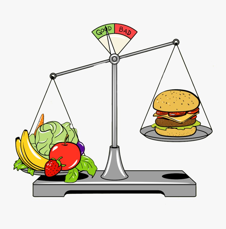Healthy Food Cartoon Cartoon Healthy Food Junk Food Free Transparent Clipart Clipartkey
