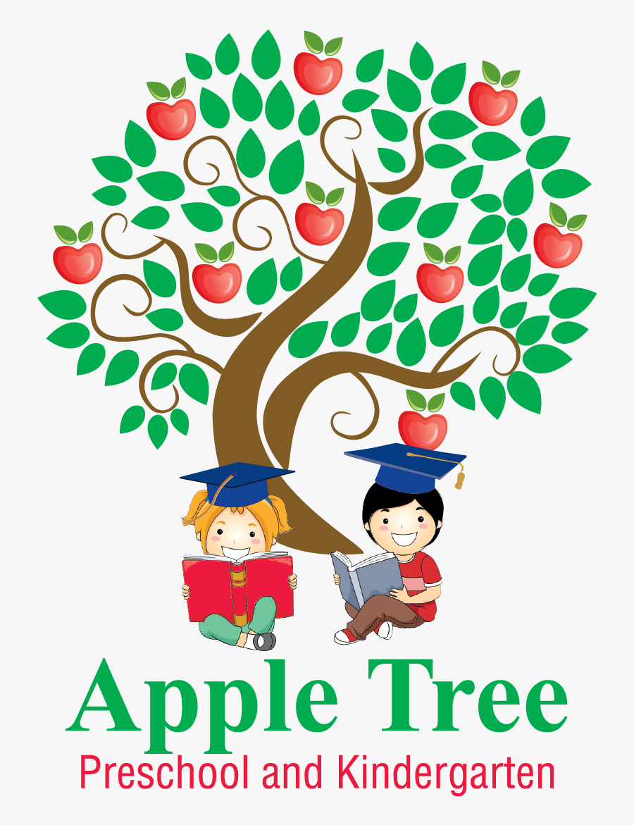 Apple Tree Preschool Kindergarten Jpg Apple Welcome - Apple Tree Kindergarten, Transparent Clipart