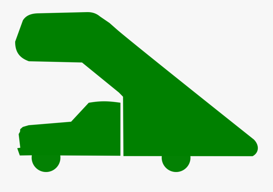 Plant,grass,leaf - Airport Stair Truck Icon, Transparent Clipart
