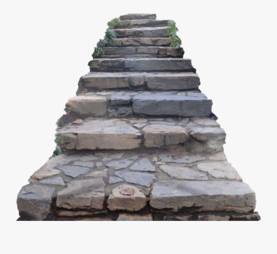 #steps #stairs #stone #path #pathway - Stone Stairs Png, Transparent Clipart