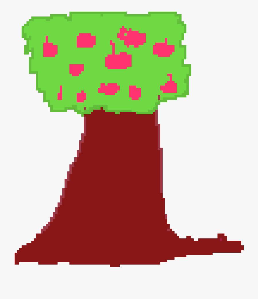 Apple Tree Clipart , Png Download - Pixel Art Apple Tree, Transparent Clipart