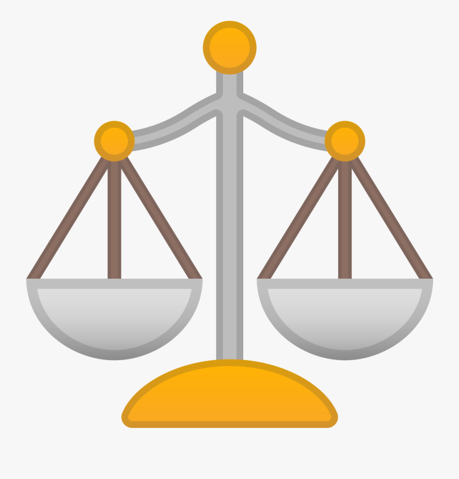 Transparent Balancing Scales Clipart - Balance Scale Icon Png, Transparent Clipart
