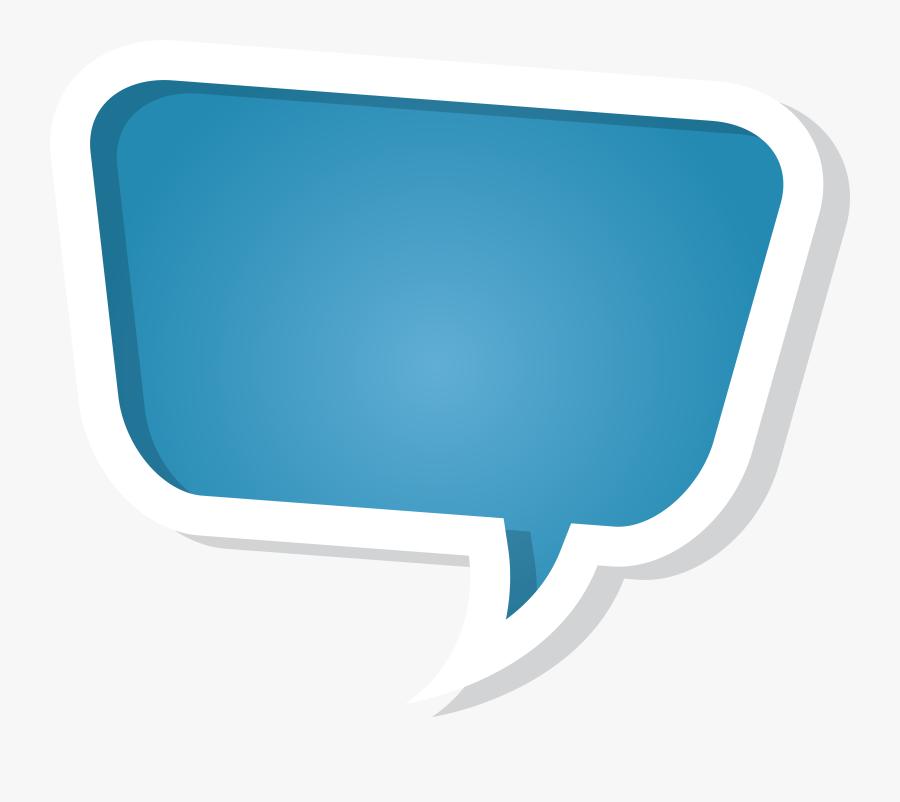 Speech Bubble Clipart Transparent Background - Speech Bubble Callout Png, Transparent Clipart