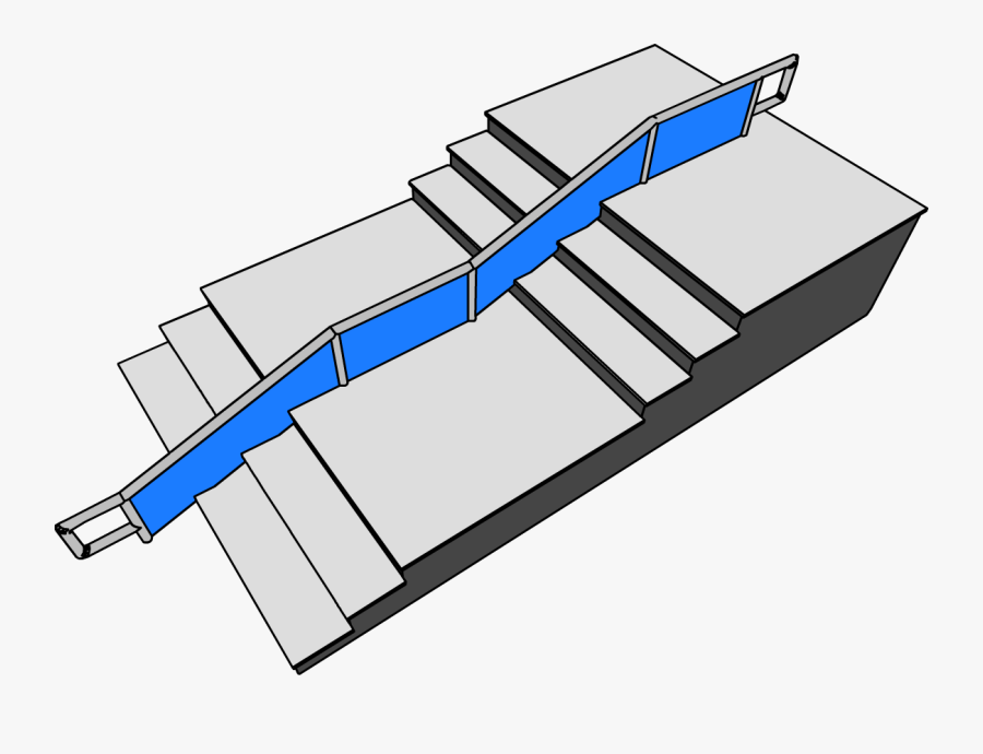 Stair Ramp Furniture Icon - Club Penguin Stairs, Transparent Clipart