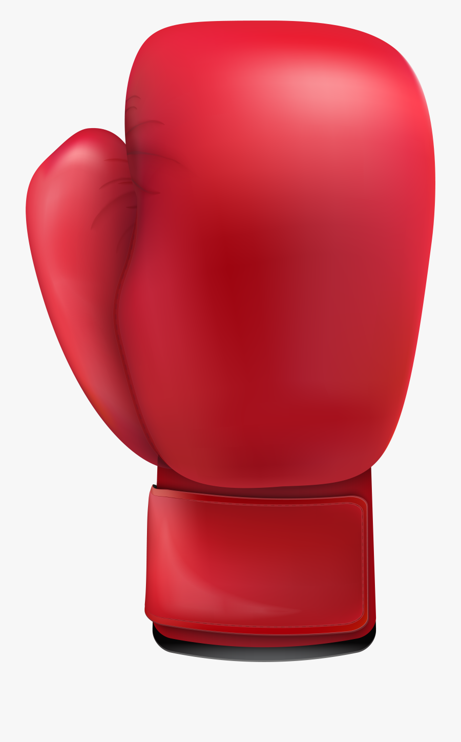 Boxing Glove Clip Art - Red Boxing Glove Clipart, Transparent Clipart