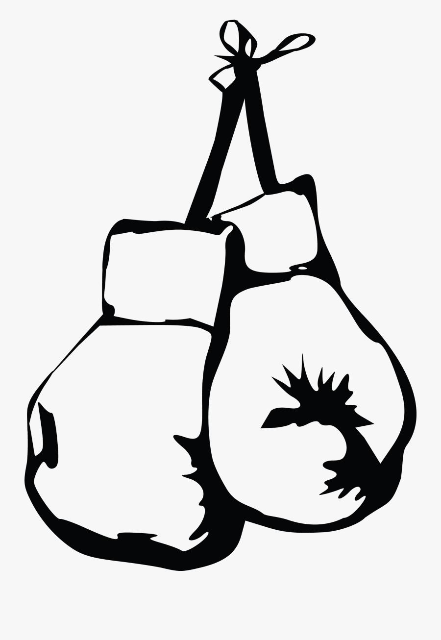 Transparent Boxer Clipart - Boxing Gloves Icon Png, Transparent Clipart