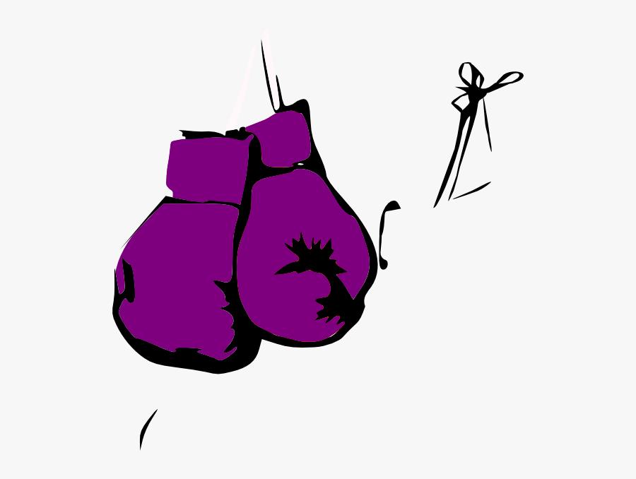 Cartoon Boxing Gloves Hanging, Transparent Clipart