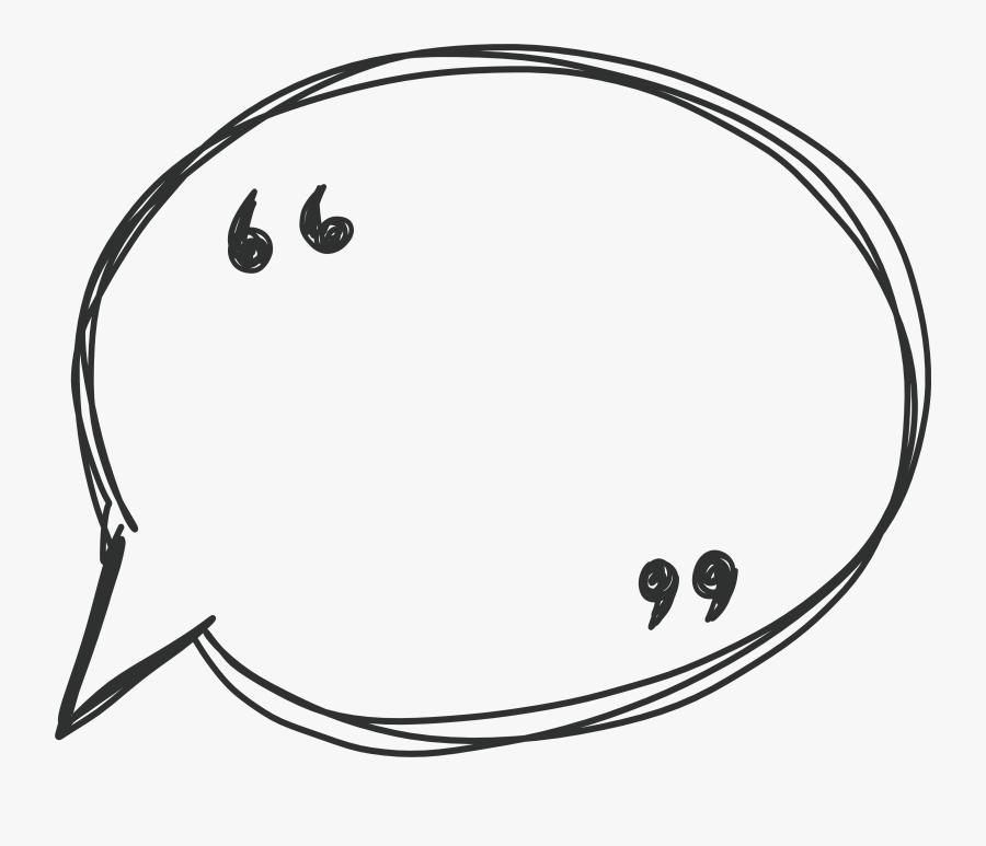 Transparent Talking Bubble Clipart - Speech Bubble Vector Png, Transparent Clipart