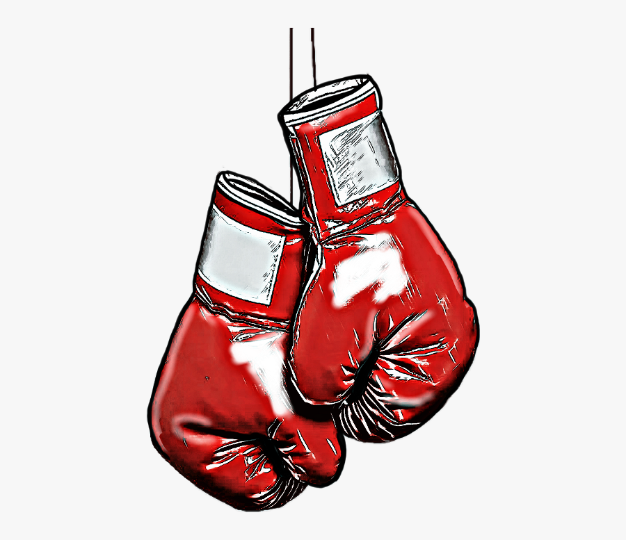 Boxing Glove Clipart , Png Download - American Flag Hanging Boxing Gloves Clip Art, Transparent Clipart