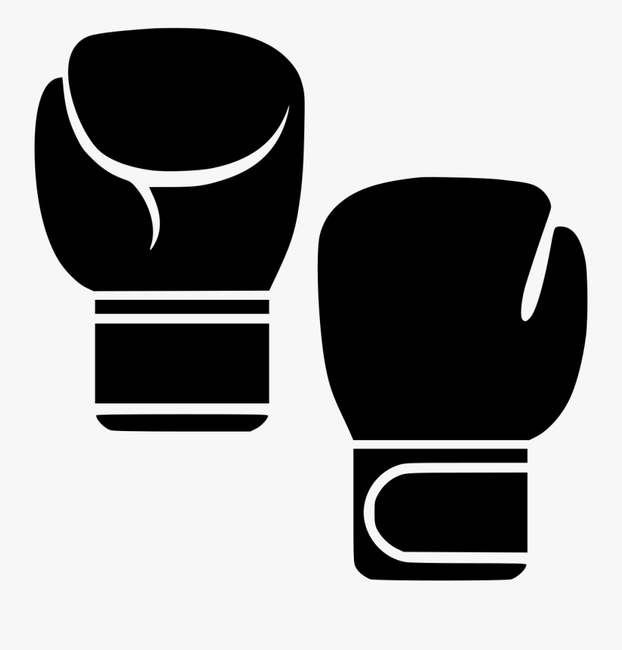Transparent Boxing Glove Clipart - Free Boxing Glove Icon, Transparent Clipart