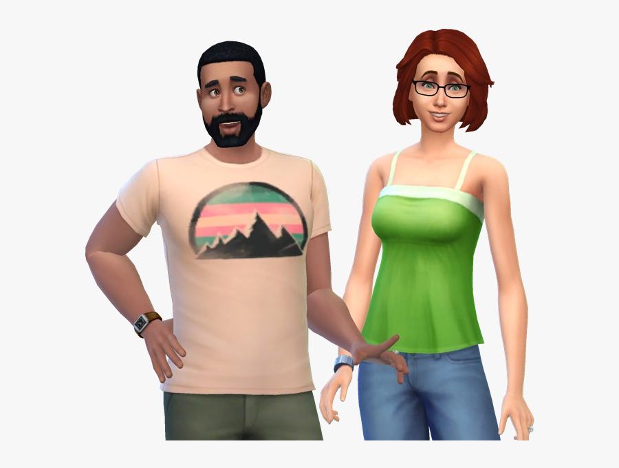 Pancakes Family - Pancake Family Sims 4, Transparent Clipart