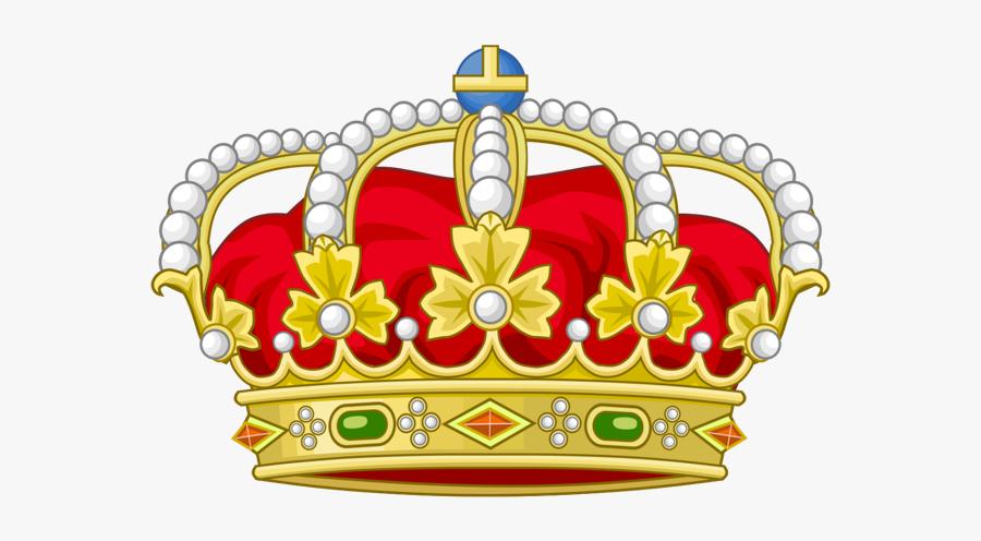 #gold #golden #jewels #tiara #crown #aesthetic #man - Spanish Royal Crown, Transparent Clipart