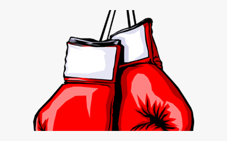 Transparent Boxing Glove Clipart - Red Boxing Gloves Clip Art, Transparent Clipart