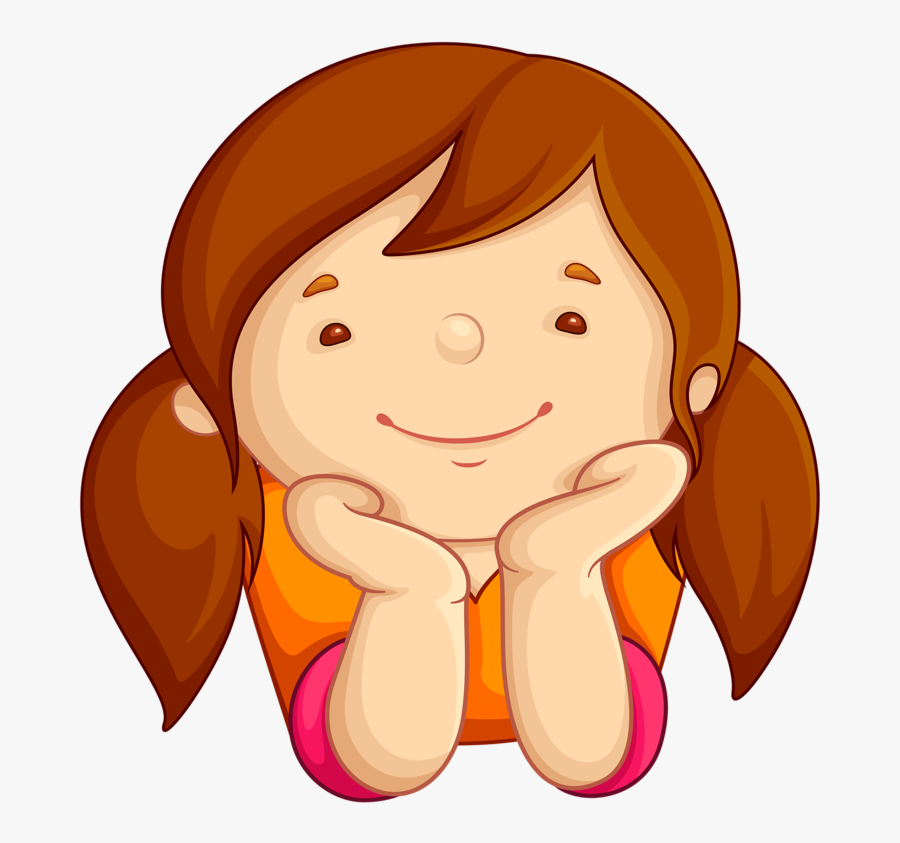 Фотки Boy Or Girl, Art Girl, Girl Clipart, Kids Scrapbook, - Cute Girl Reading Clipart, Transparent Clipart